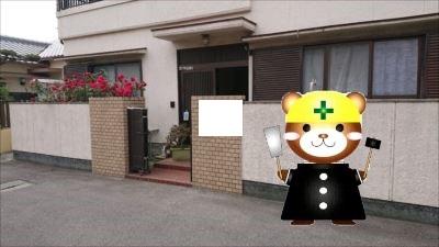 泉大津市で雨漏り調査!ベランダ防水面の劣化が原因でした