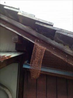 大屋根・下屋 侵入対策