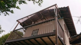 屋根・樋・照明完了