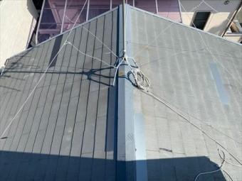 スレート屋根補修 完工