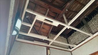天井下地設置
