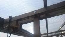中間支柱貫通ボルト取替え完了