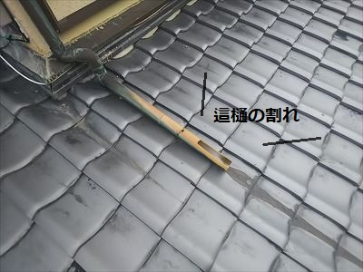 這樋 割れ 台風 銅製