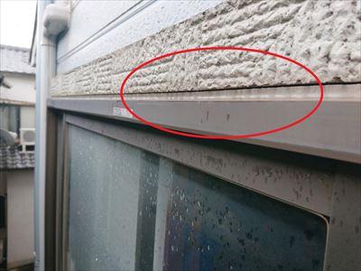 堺市西区にて外壁目地劣化でコーキング補修を行いました。