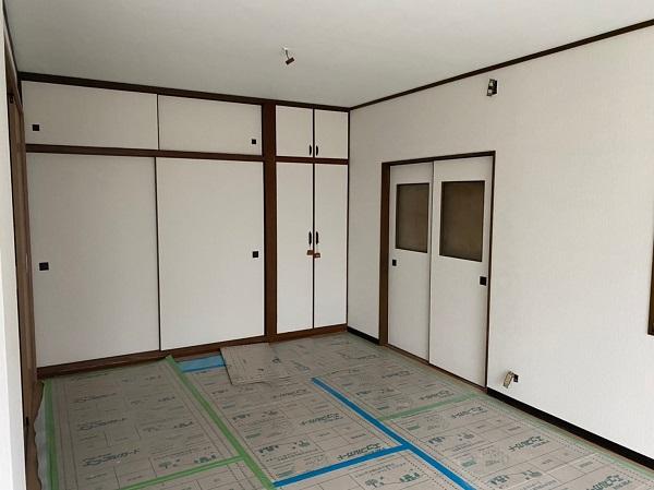 耐震改修工事 クロス張替え後 耐力壁
