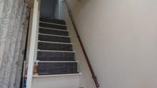 階段手摺の設置