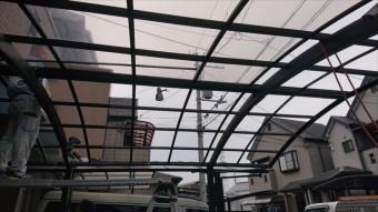 カーポート屋根 張り替え