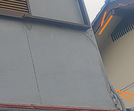 外壁クラック タッチアップ補修
