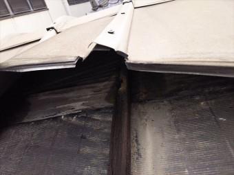 鋼板屋根破損拡大
