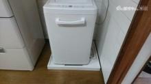 洗濯パン設置完了