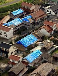 地震での瓦落下