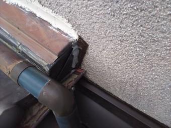 屋根・壁取合い板金仕舞い完了