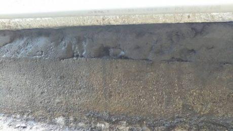 土台と基礎隙間 グラウト注入