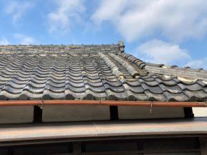 屋根 平瓦の劣化やズレ