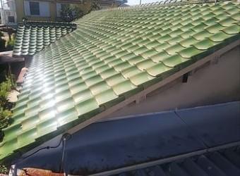 屋根 葺き替え 耐震改修工事