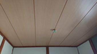 和室天井張り替え完了