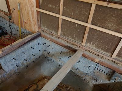 耐震改修 耐力壁 添え基礎