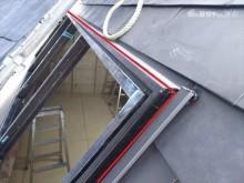 傾斜屋根サッシ廻り仕舞