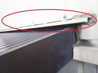 屋根・壁取合い水切り