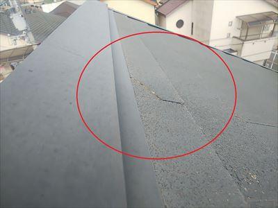 調査 屋根 破損2