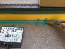 鉄骨階段床面シート貼りシール仕上げ