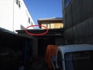 鋼板屋根施工後