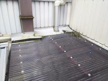 屋根上不良状況