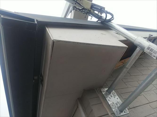 破風板 軒裏 劣化