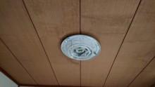 和室天井漏水シミ