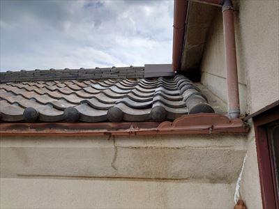 屋根瓦 補修前