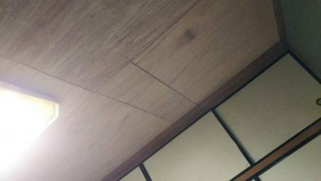 天井下地重ね張り