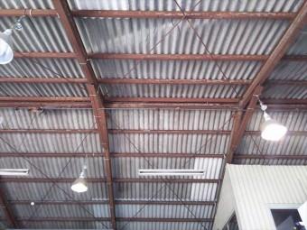 スレート屋根修理完了