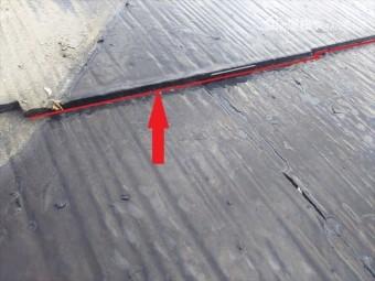屋根カラーベスト水抜き改善