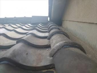 屋根瓦 補修後
