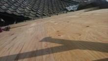 野地板・取合下地完了
