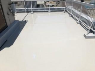 屋上防水完了
