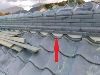 大屋根棟瓦復旧完了
