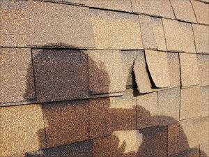 屋根 処置 改修前