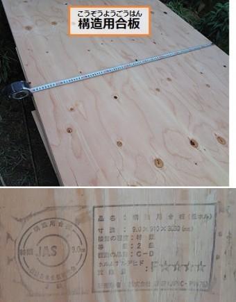 構造用合板とは 壁補強工事