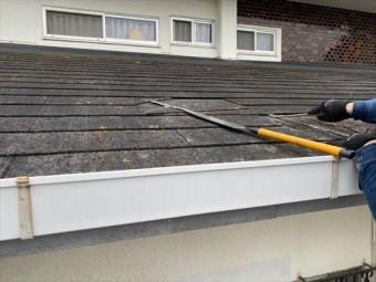 スレート屋根材 破損 張替え
