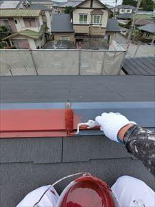 屋根 金属部 錆止め