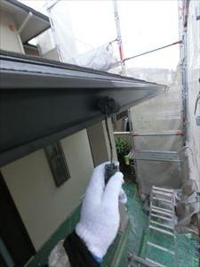 軒樋 塗装