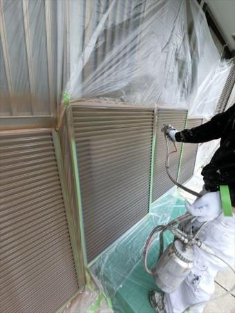 外壁塗装 雨戸塗装