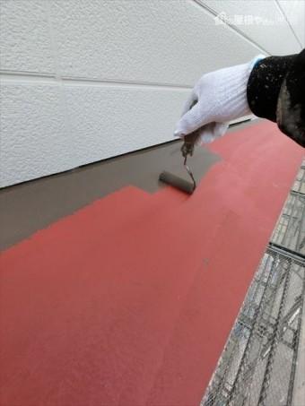 外壁塗装 庇部塗装