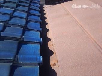 屋根鋼板錆状況