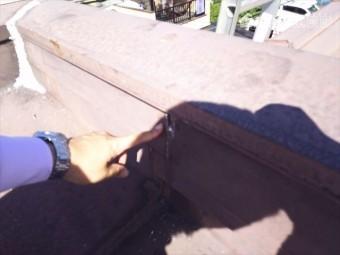 鋼板隙間空き状況