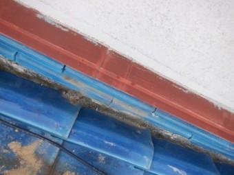 壁のし瓦修復