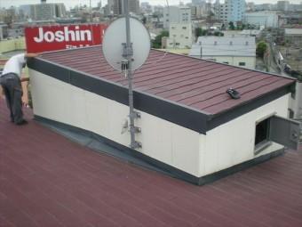 屋根のカラーベストから雨漏れ