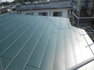大屋根 金属製屋根
