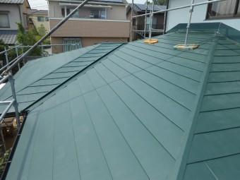 下屋 金属製屋根 完了